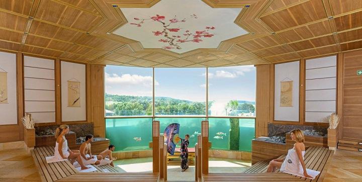 Koi sauna, Thermen & Badewelt Sinsheim