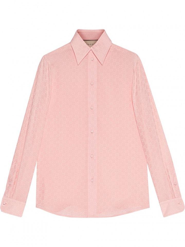 Světle růžová košile