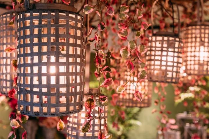 Květinové dekorace od značky Jasaco.