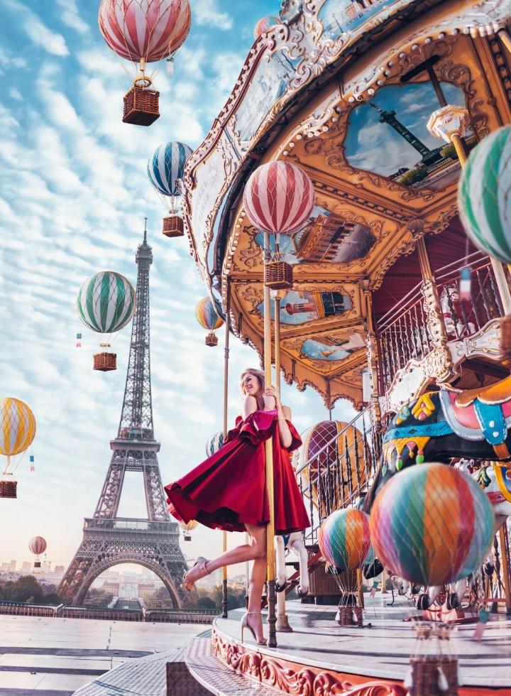 Paříž a Kristina Makeeva