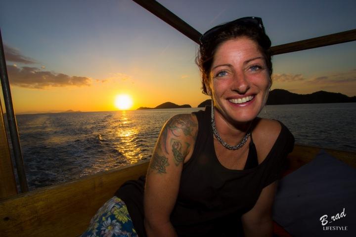 Západy slunce a svoboda - to je pak ten pravý úsměv
