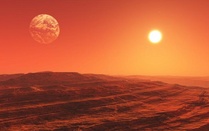 Simulace života na Marsu