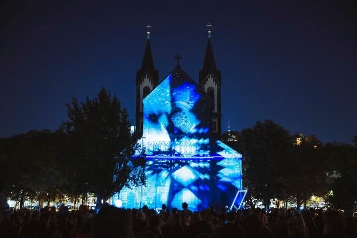 Loni probíhal Signal Festival poprvé také v Karlíně.