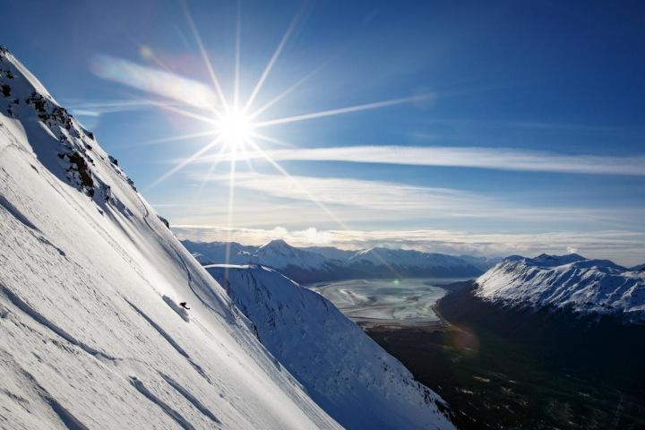 Dokonalé lyžování na Aljašce