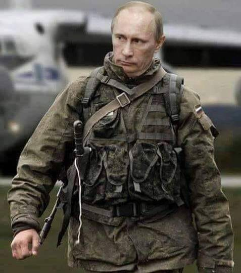 Putin je připraven na vše.