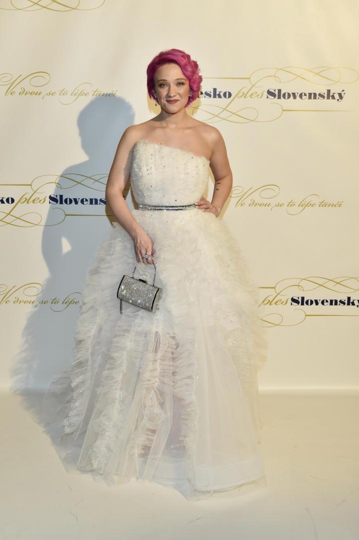 Tereza Mašková - šaty Dominik Navrátil
