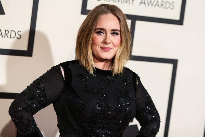 Britská zpěvačka Adele