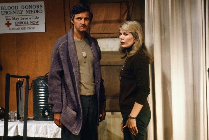 Alan Alda a Loretta Swit