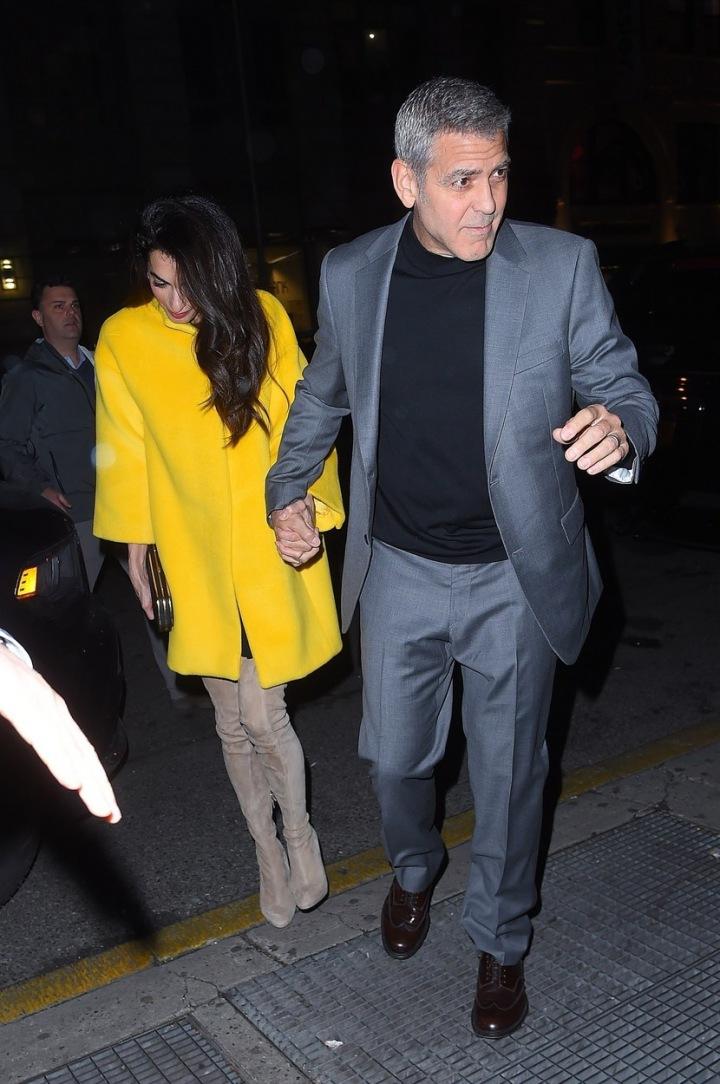 Amal Clooney a George Clooney