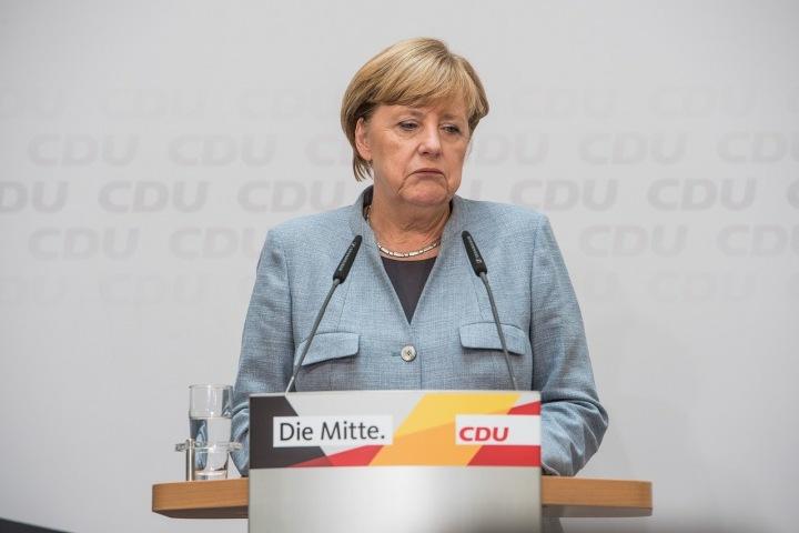 Německá kancléřka Angela Merkel