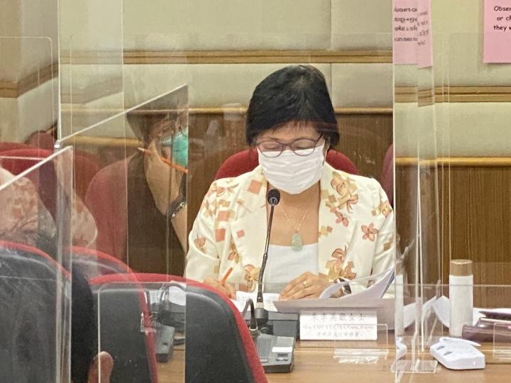 Hongkongská novinářka Bao Choy
