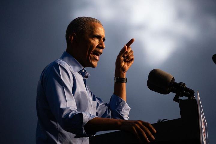 Barack Obama má proslov