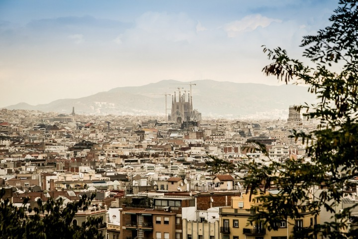 Over 30 million tourists a year visit Barcelona