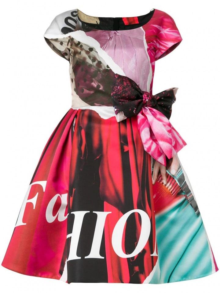 Barevné šaty Moschino