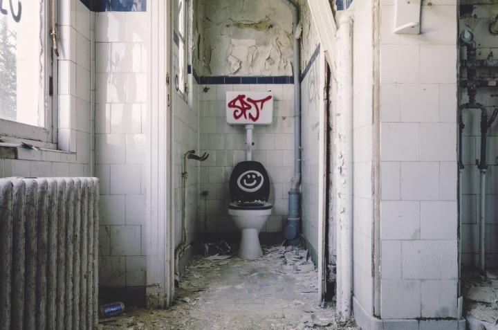 Toaleta... vzácný to jev na našich silnicích.