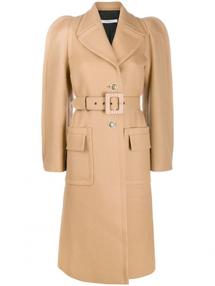 Béžový kabát Givenchy