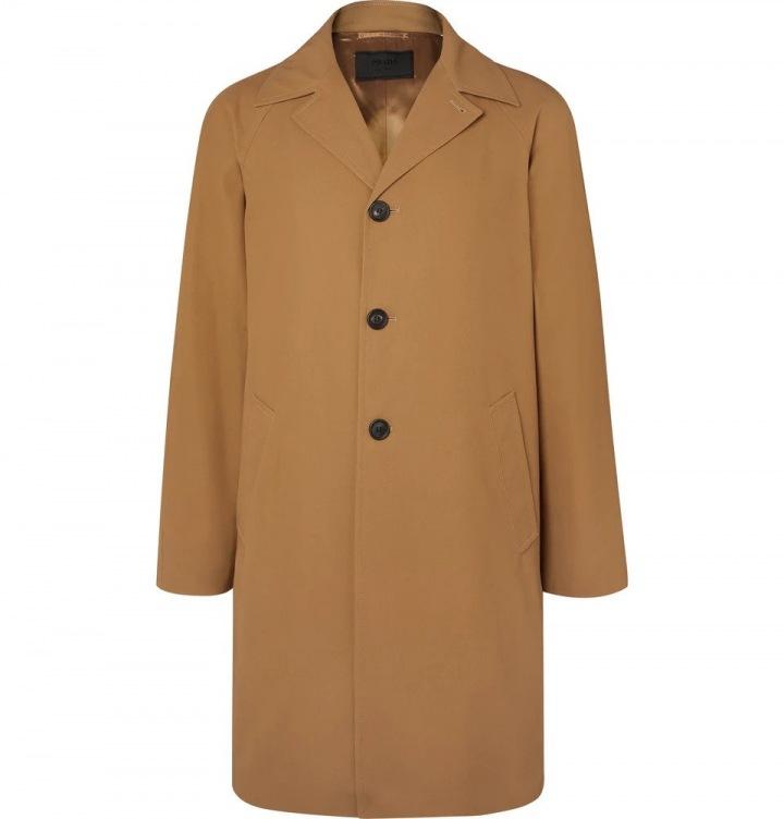 Béžový kabát Prada