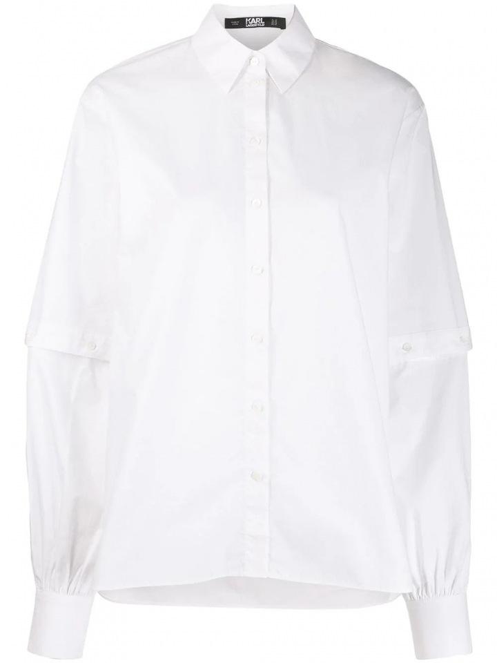 Bílá košile Karl Lagerfeld