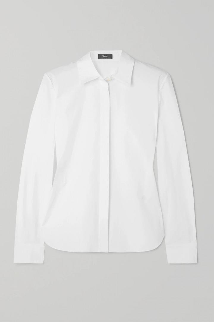 Bílá košile Theory