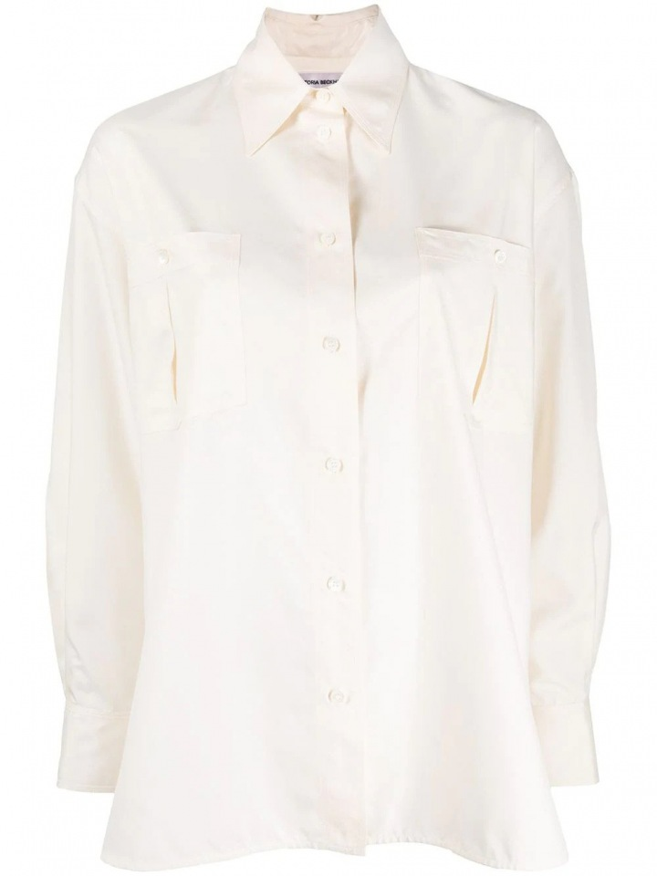 Bílá košile Victoria Beckham