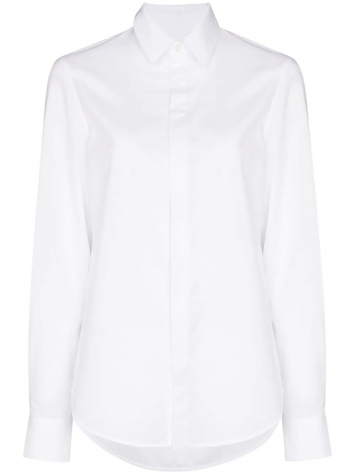 Bílá košile WARDROBE.NYC