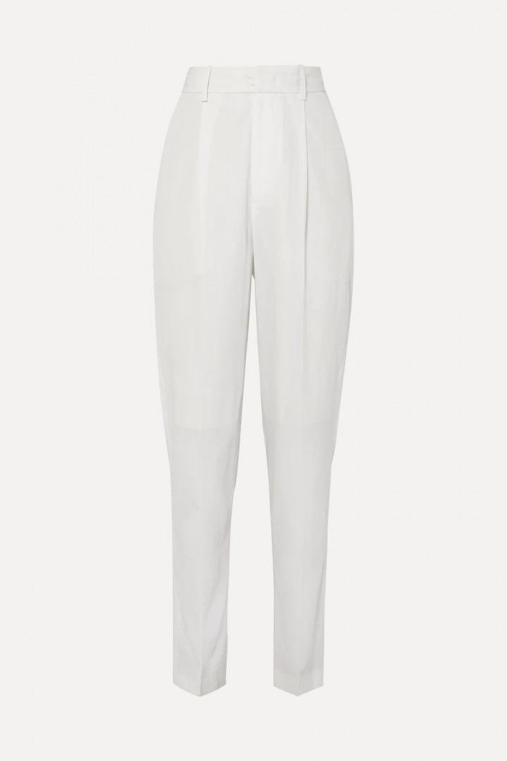 Bílé kalhoty Isabel Marant