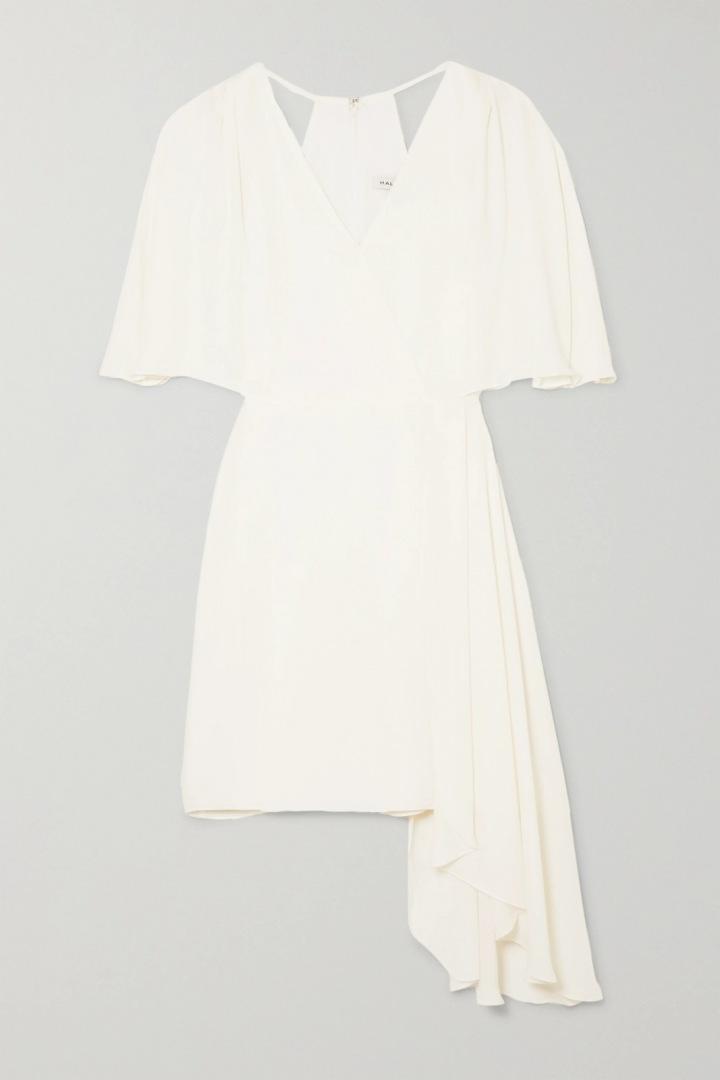 Bílé šaty Halston