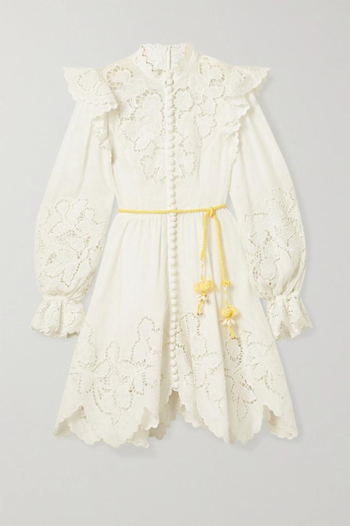 Bílé šaty Zimmermann