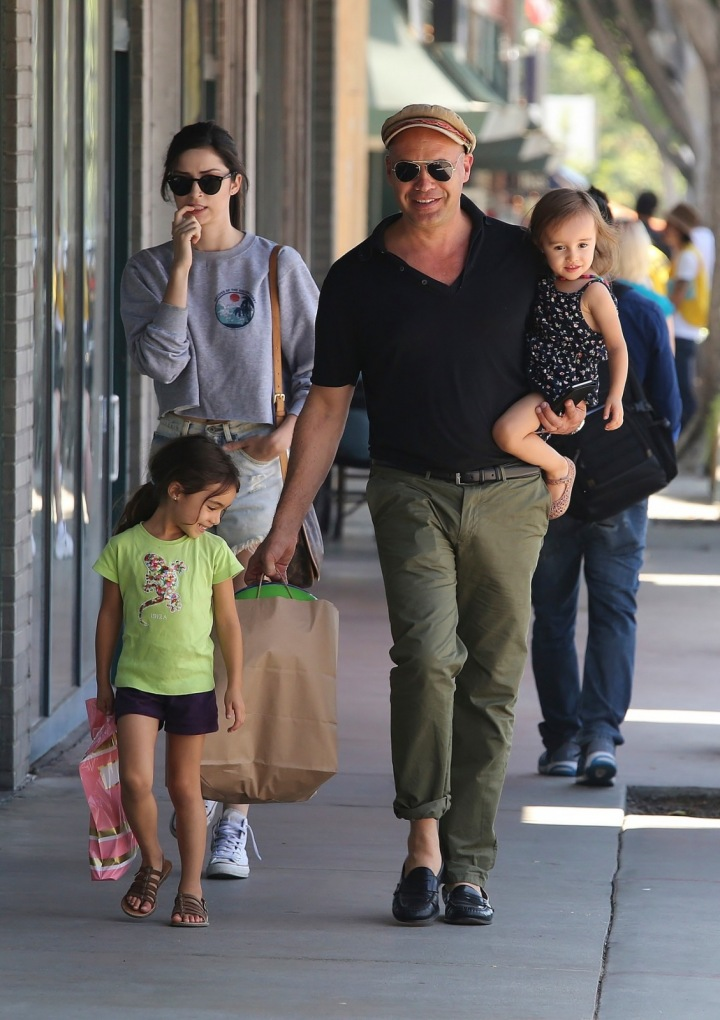Billy Zane se svými dcerami, Gia a Ava