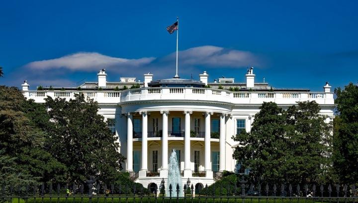 Bílý dům ve Washingtonu DC.