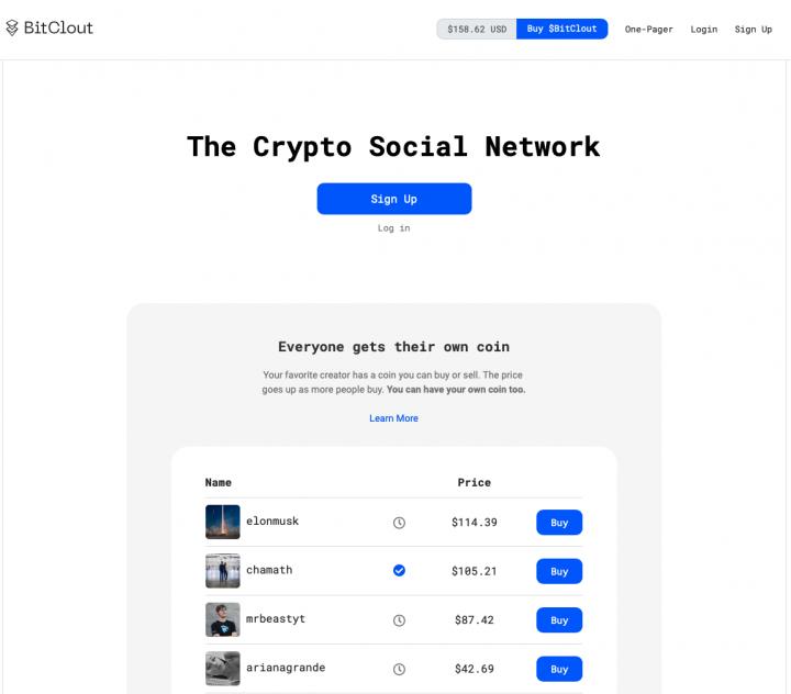 Nová sociální síť BitCloud