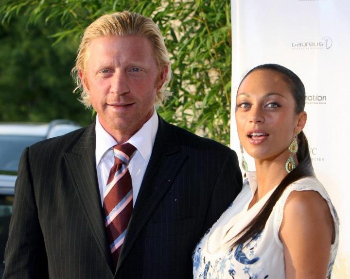 Boris Becker s exmanželkou Lilly