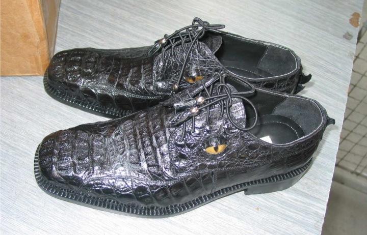 Boty z krokodýlí kůže