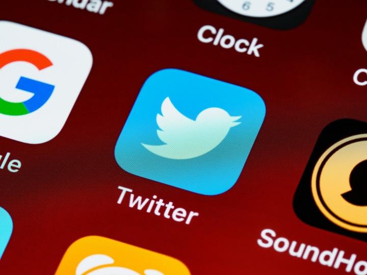 Ikonka mobilní aplikace Twitter