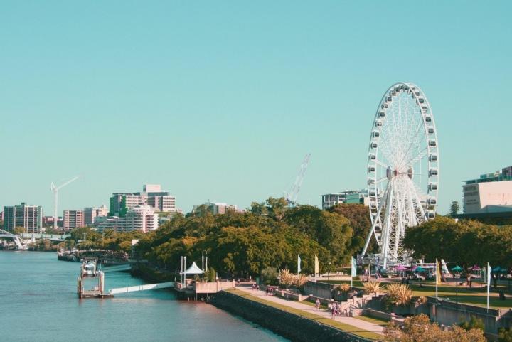 Australské město Brisbane