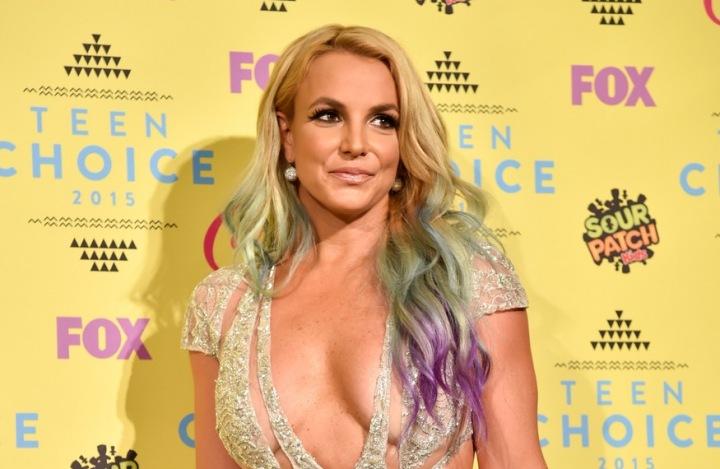 Zpěvačka Britney Spears na Teen Choice Awards