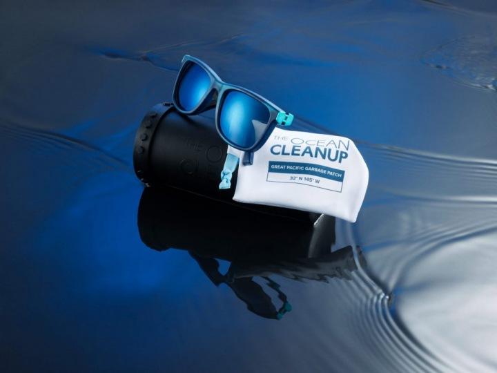 Sluneční brýle z oceánských plastů