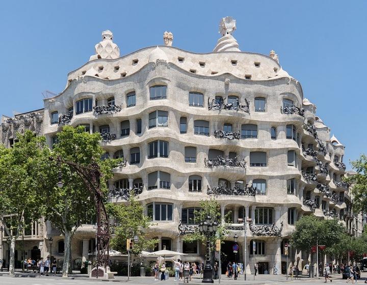 Casa Mila od Antonia Gaudího