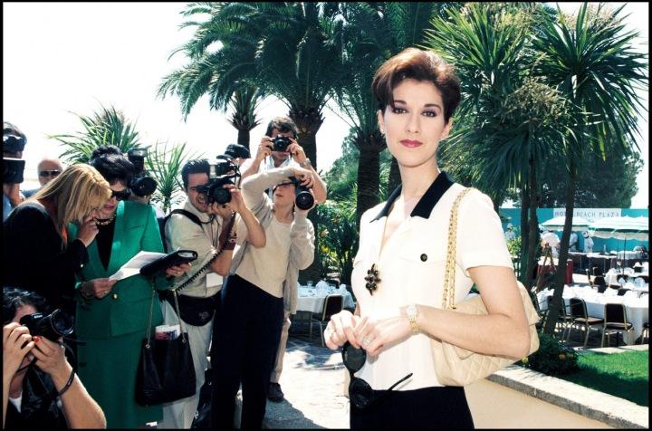 Celine Dion v roce 1997.