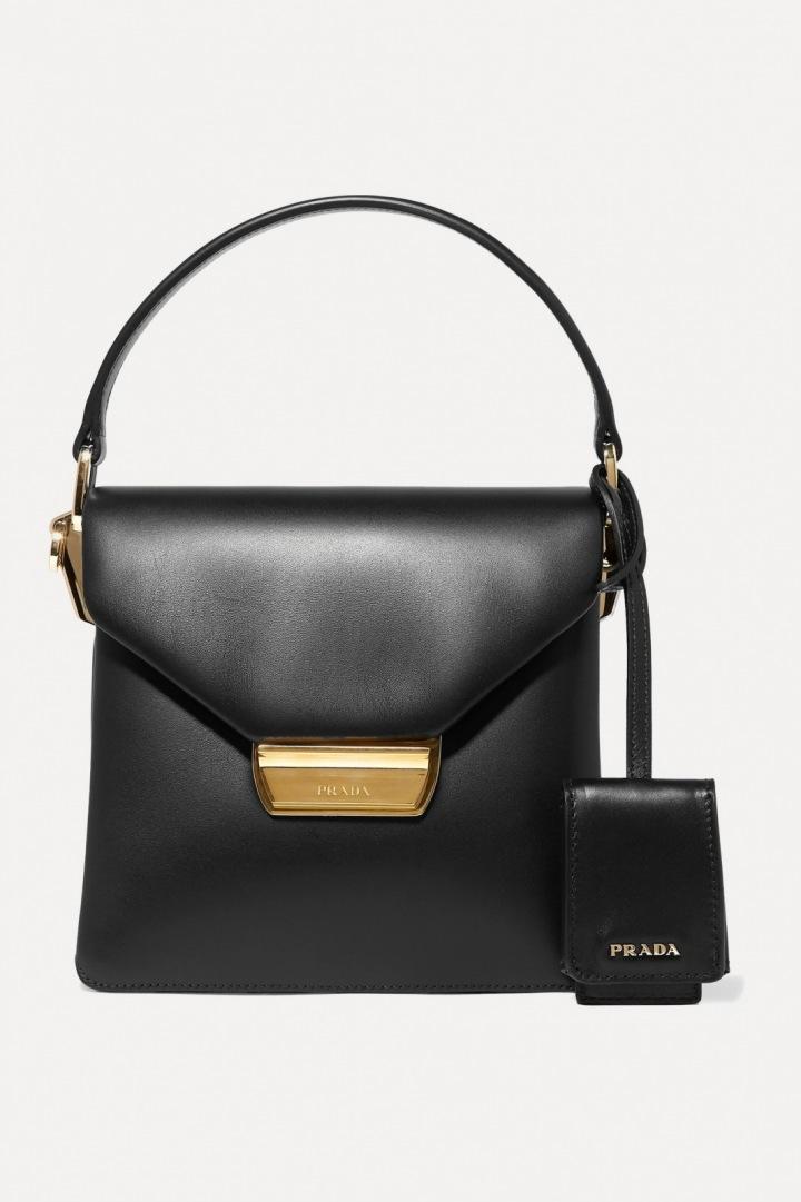 Černá kabelka Prada