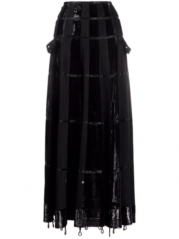 Černá sukně Dior