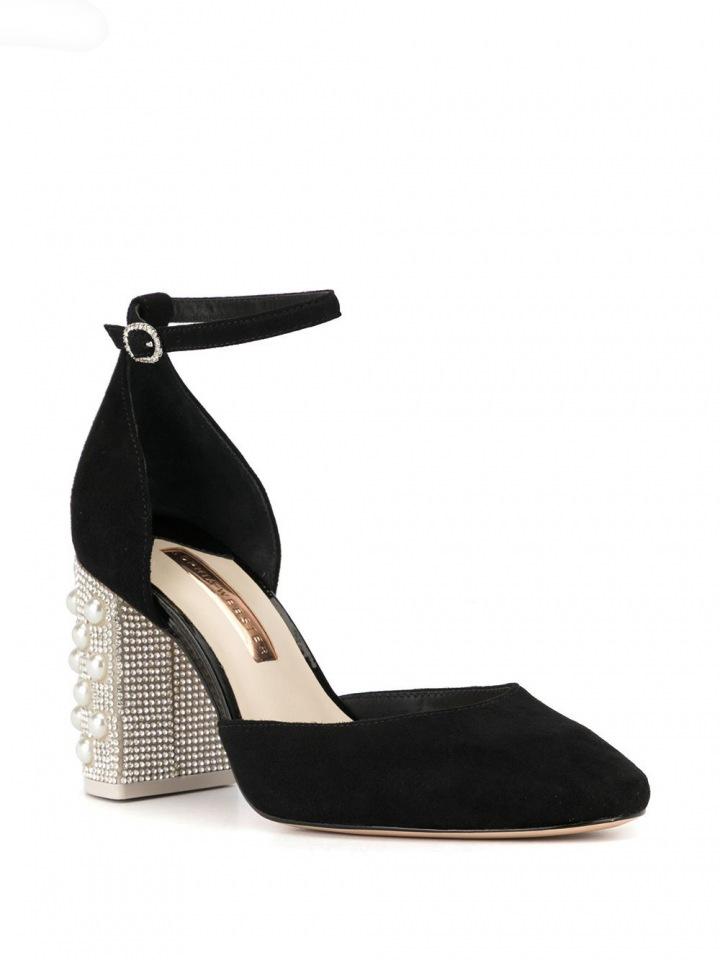 Černé boty Sophia Webster