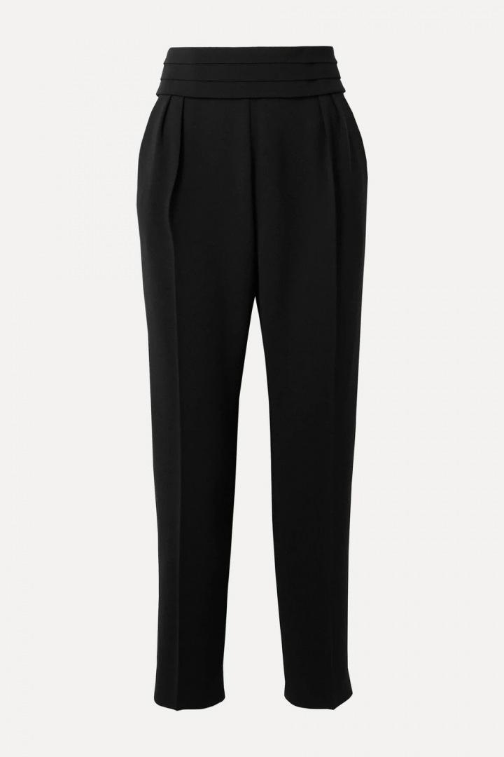 Černé kalhoty Max Mara