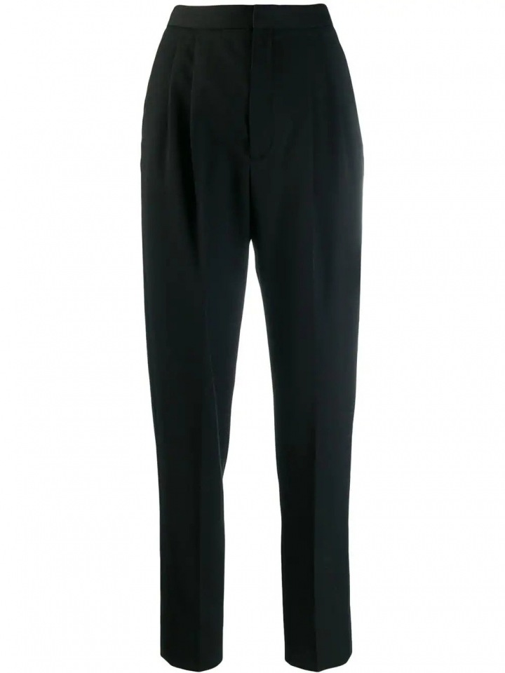 Černé kalhoty Saint Laurent