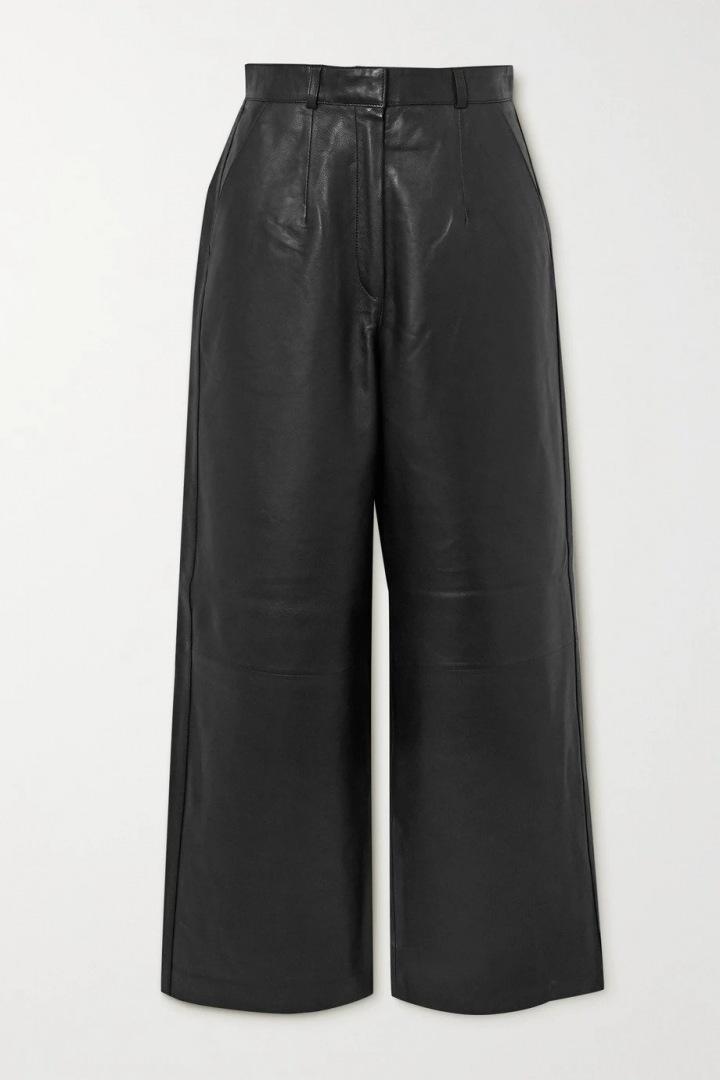 Černé kožené kalhoty Envelope1976
