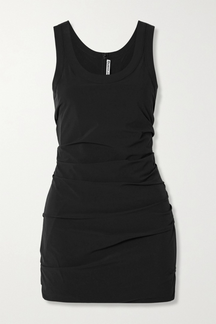 Černé mini šaty Alexander Wang
