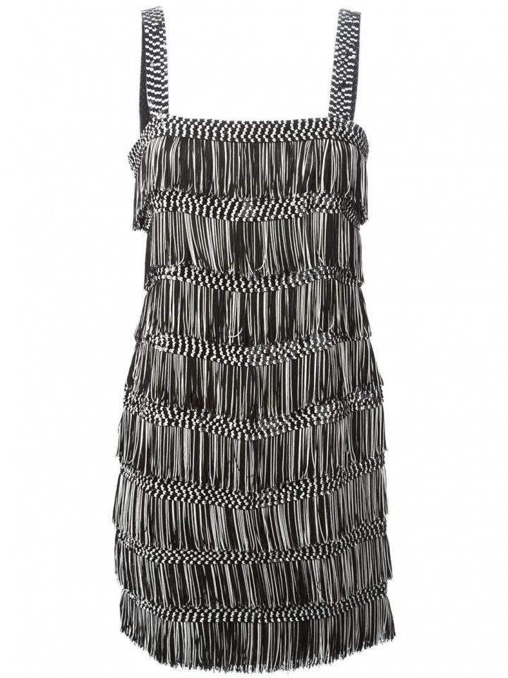 Černé mini šaty Dior