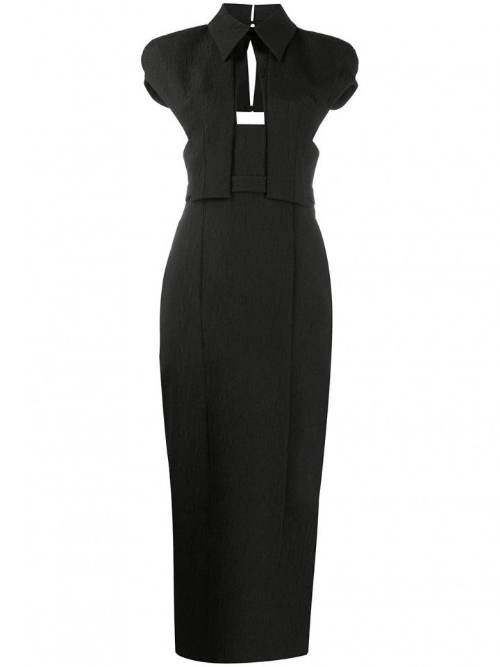 Černé šaty Emilia Wickstead