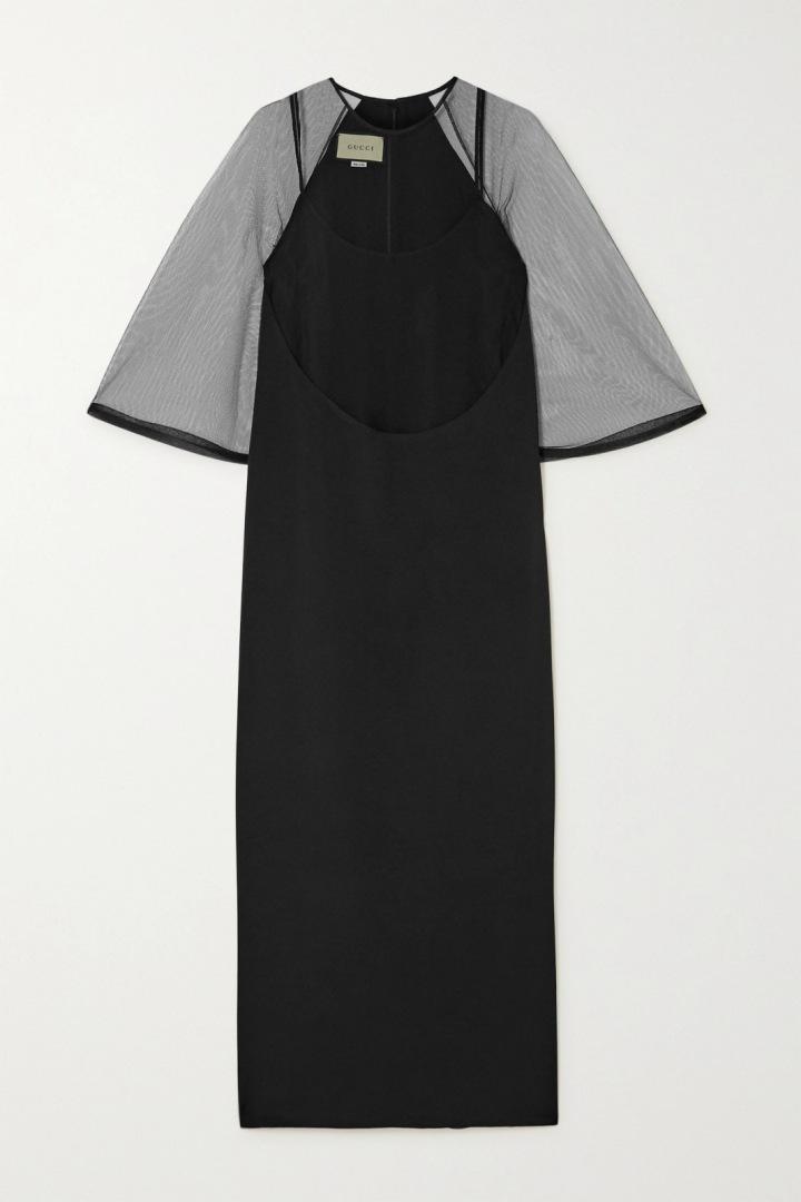 Černé šaty Gucci