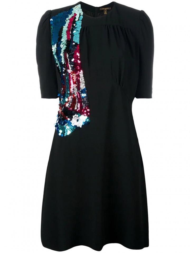 Černé šaty Louis Vuitton
